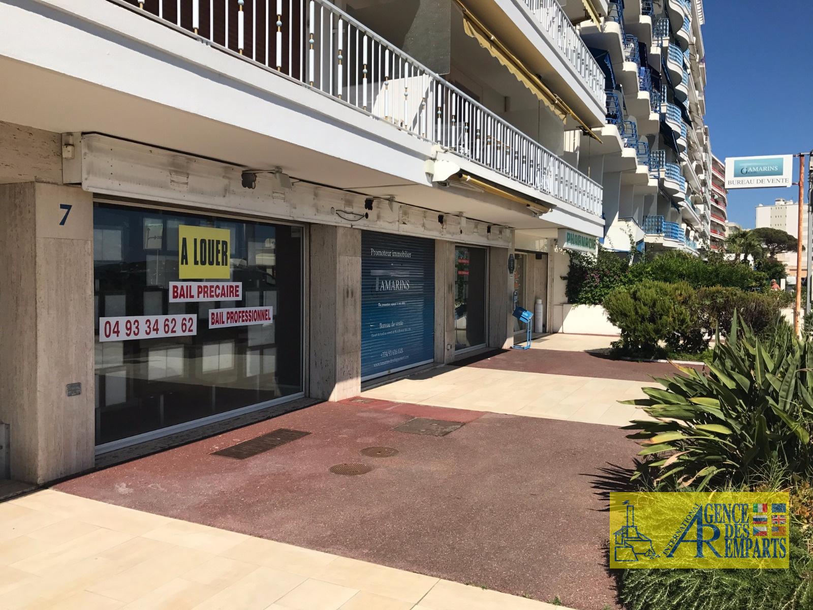 Professional property sale commercial walls Juan les Pins 06160